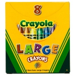 Crayola Large Size Tuck Box 8pk