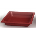 ChildBrite Red Drip Pan, No Drain