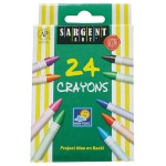Sargent Art Crayons 24 Count Tuck Box