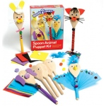 Center Enterprises Ready2Learn Spoon Animal Puppet Craft Kit