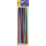 Chenille Stems Asst 12in Stems 100pk
