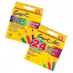 Sargent Art Half-Sized Colored Pencils 24 Color Set