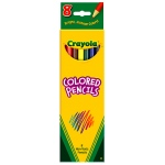 Crayola Colored Pencils 8 Ct Asst