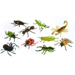 Get Ready Kids Plastic Animal Play Set: Insects, 10 Pieces