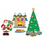 Bb Set Christmas Scene