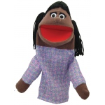 Get Ready Puppet Partners: African American Girl Puppet