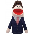 Get Ready Puppet Partners: Caucasian Dad Puppet