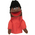 Get Ready Puppet Partners: African American Mom Puppet