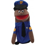 Get Ready Puppet Partners: African American Policeman Puppet
