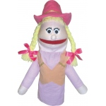 Get Ready Puppet Partners: Cowgirl Puppet