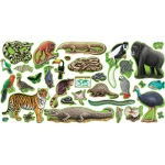 Bb Set Rain Forest Animals 2 Press Sht