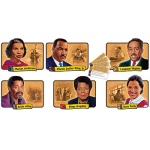 Bb Set African-American Achievers 12 Realistic Portraits