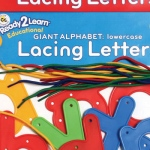 Center Enterprises Ready2Learn Lowercase Lacing Letters