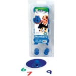 Center Enterprise Ready2Learn Giant Stamper: Numbers 0-9, Pack of 10