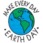 Center Enterprise Make Every Day Earth Day Stamp