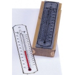 Center Enterprise Thermometer Stamp
