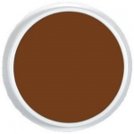 Center Enterprise Jumbo Circular Washable Paint/Ink Pad: Brown, 6""