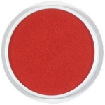 Center Enterprise Jumbo Circular Washable Paint/Ink Pad: Red, 6""