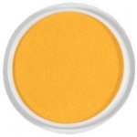 Center Enterprise Jumbo Circular Washable Paint/Ink Pad: Yellow, 6""