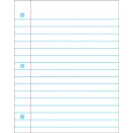 Wipe-Off Chart Notebook Paper 22 X 28