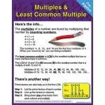 Pre-Algebra Multiples & Least Common Multiple Chartlet