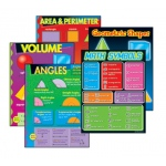 Geometry Learning Charts Combo Pack
