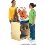 Jonti-Craft 2 Station Easel: School Age