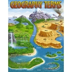 Chart Geography Terms 17 X 22