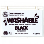 Center Enterprises Washable Stamp Pads: Black