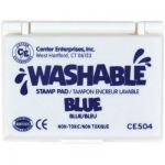Center Enterprises Washable Stamp Pads: Blue