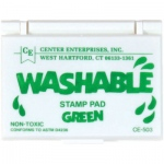 Center Enterprises Washable Stamp Pads: Green