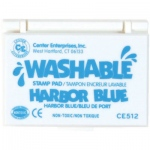 Center Enterprises Washable Stamp Pads: Harbor Blue
