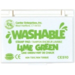 Center Enterprises Washable Stamp Pads: Lime Green