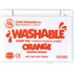 Center Enterprises Washable Stamp Pads: Orange