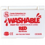 Center Enterprises Washable Stamp Pads: Red