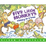 Carry Along Book & Cd Five Little Monkeys Sitting In A Tree