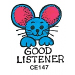 Center Enterprises Good Listener - Mouse Stamp
