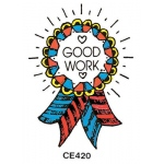 Center Enterprises Good Work - Ribbon Stamp