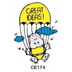 Center Enterprises Great Ideas - Hippo Stamp