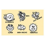 Center Enterprises Happy Bugs Grading Stamp Set: Spanish