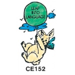 Center Enterprises Leap Into Language - Bunny Stamp