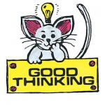 Center Enterprises Stamp: Good Thinking - Mouse
