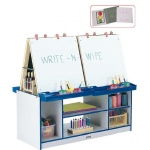 Jonti-Craft 4 Station Easel - Black