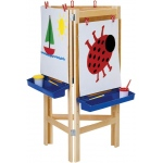 Jonti-Craft Adjustable Easel: 3 Way