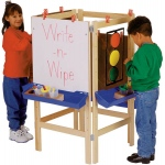 Jonti-Craft Adjustable Easel: 4 Way