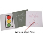 Jonti-Craft Write-N-Wipe Easel Panel - Double
