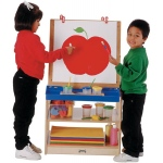 Jonti-Craft Thriftykydz Easel: 2 Station
