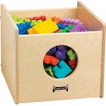 Jonti-Craft Thriftykydz See-N-Wheel Bin