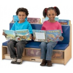Jonti-Craft Literacy Couch: Blue