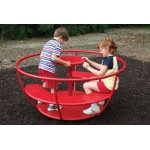 SportsPlay Tea Cup Merry Go Round: 6' - Playground Roundabouts
